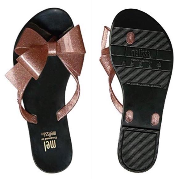 41690e5edf56d NEW Mel By Melissa Harmonic Bow Sandals